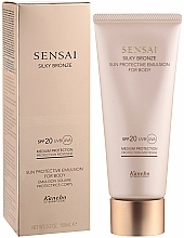 Fragrances, Perfumes, Cosmetics Body Sunscreen Emulsion - Kanebo Sensai Silky Bronze Sun Protective Emulsion For Body SPF 20
