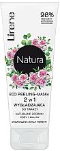 Fragrances, Perfumes, Cosmetics Peeling Face Mask - Lirene Natura Eco Peeling-Mask