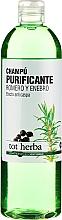 Fragrances, Perfumes, Cosmetics Shampoo - Tot Herba Rosemary Juniper Purifying Shampoo