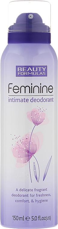 Feminine Intimate Deodorant - Beauty Formulas Feminine Intimate Deodorant
