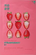 "Fragrances, Perfumes, Cosmetics Sheet Mask ""Strawberry"" - Holika Holika Pure Essence Mask Strawberry"