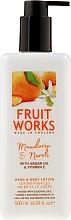 Fragrances, Perfumes, Cosmetics Mandarin & Neroli Hand & Body Lotion - Grace Cole Fruit Works Hand & Body Lotion Mandarin & Neroli