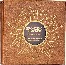 Fragrances, Perfumes, Cosmetics Bronzing Powder - Pierre Rene Shimmering Bronzing Powder