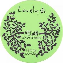 Fragrances, Perfumes, Cosmetics Transparent Face Powder - Lovely Vegan Loose Powder Setting Powder