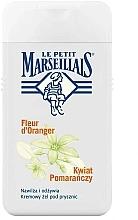 "Fragrances, Perfumes, Cosmetics Shower Gel ""Orange Tree Flower"" - Le Petit Marseillais"