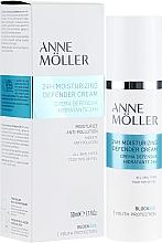 Fragrances, Perfumes, Cosmetics Moisturizing Face Cream - Anne Moller Blockage 24h Moisturizing Defender Cream