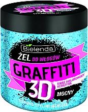 Fragrances, Perfumes, Cosmetics Hair Gel - Bielenda GRAFFITI 3D Strong Stayling Hair Gel