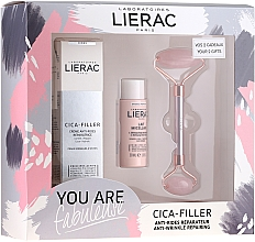 Fragrances, Perfumes, Cosmetics Set - Lierac Cica-Filler Set (f/cr/40ml + f/milk/30ml + roller/1pcs)