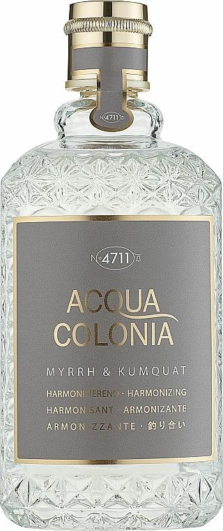 Maurer & Wirtz 4711 Acqua Colonia Myrrh & Kumquat - Eau de Cologne