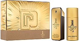 Fragrances, Perfumes, Cosmetics Paco Rabanne 1 Million - Set (edt/100 + deo/150)