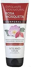 Fragrances, Perfumes, Cosmetics Body Scrub - Voland Nature Rose Hip Body Scrub