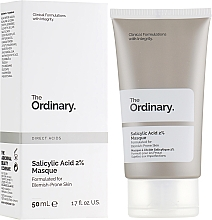 Fragrances, Perfumes, Cosmetics Salicylic Acid 2% Face Mask - The Ordinary Salicylic Acid 2% Masque