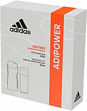Fragrances, Perfumes, Cosmetics Set - Adidas Adipower Men (deo/150ml +sh/gel/250ml)