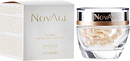 Fragrances, Perfumes, Cosmetics Oil Concentrate Repair Solution in Capsules - Oriflame NovAge Nutri6 Facial Oil Capsules