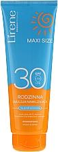 Fragrances, Perfumes, Cosmetics Sun Care Emulsion - Lirene Sun Care Moisturizing Emulsion SPF30