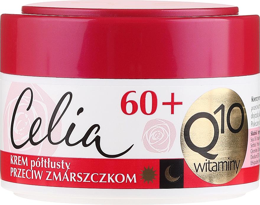 Anti-Aging Semi-Oily Face Cream - Celia Q10 Face Cream 60+