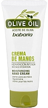Fragrances, Perfumes, Cosmetics Olive Oil Hand Cream - Babaria Hand Cream With Olive Oil