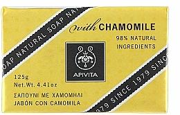 "Fragrances, Perfumes, Cosmetics Soap ""Chamomile"" - Apivita Soap with chamomile"
