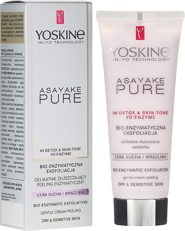 Dry and Sensitive Skin Enzyme Peeling - Yoskine Asayake Pure Bio Enzym Peeling