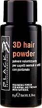 Fragrances, Perfumes, Cosmetics Volume Hair Powder - Black Professional Line 3D Hair Powder