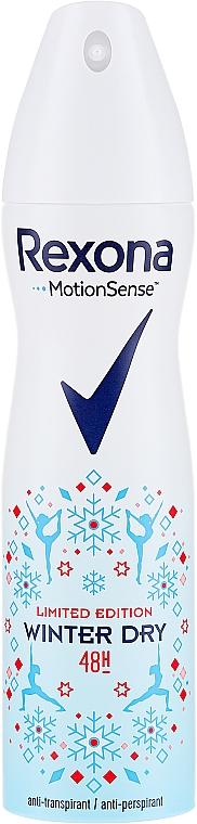 Antiperspirant Spray - Rexona Deospray Winter Dry Limited Edition