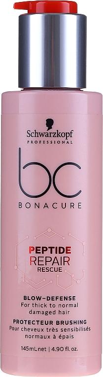 Hair Protective Cream - Schwarzkopf Heat Protector BC Peptide RR Blow Defense