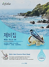 "Fragrances, Perfumes, Cosmetics Sheet Mask ""Swallow's Nest Extract"" - Esfolio Bird's Nest Essence Mask Sheet"