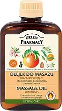 Fragrances, Perfumes, Cosmetics Warming Massage Oil - Green Pharmacy Warming Massage Oil