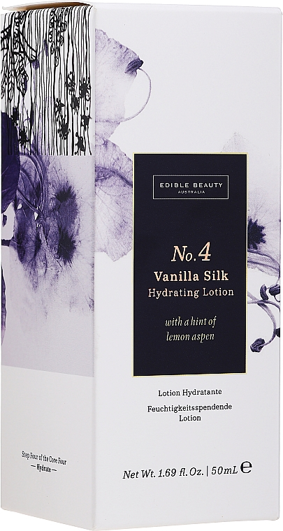 Moisturizing Face Lotion #4 - Edible Beauty No. 4 Vanilla Silk Hydrating Lotion — photo N1