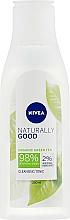 Fragrances, Perfumes, Cosmetics Cleansing Tonic - Nivea Naturally Good Cleansing Refreshing Toner