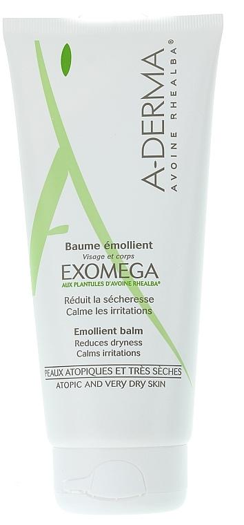 Rheabla Oat Extact Emollient Balm for Atopic Skin - A-Derma Exomega Emollient Balm — photo N3