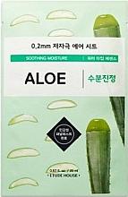 Fragrances, Perfumes, Cosmetics Ultra Thin Aloe Face Mask - Etude House Therapy Air Mask Aloe