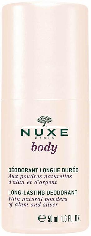 Roll-On Antiperspirant - Nuxe Body Long-Lasting Deodorant
