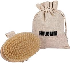 Fragrances, Perfumes, Cosmetics Massage & Bath Brush, soft fiber, light brown - Hhuumm № 3