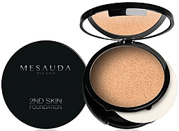 Fragrances, Perfumes, Cosmetics Cream-Powder - Mesauda Milano 2ND Skin Foundation