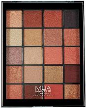 Fragrances, Perfumes, Cosmetics Eyeshadow Palette - MUA 20 Shade Eyeshadow Palette