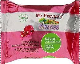 Fragrances, Perfumes, Cosmetics Biorganic Soap with Pomegranate Scent - Ma Provence Organic Soap