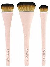 Fragrances, Perfumes, Cosmetics Makeup Brushes Set, 3 pcs - EcoTools 360 Ultimate Blend