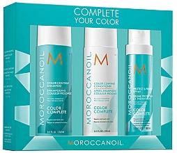 Fragrances, Perfumes, Cosmetics Set - Moroccanoil Color Complete (shmp/250ml + h/cond/250ml + h/spr/160ml)
