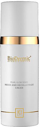 Neck and Decollete Cream - BioDermic Pearl Glow Neck and Decolletage Cream