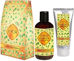 Fragrances, Perfumes, Cosmetics Set - Ryor Gift Wrapping Beer Cosmetics (sh/gel/250ml+cr/100ml)