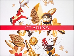 Fragrances, Perfumes, Cosmetics Set - Clarins Multi-Active Collection (day/cream/50ml + night/cream/15ml+balm/15ml+bag)