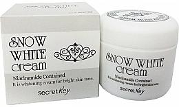 Fragrances, Perfumes, Cosmetics Whitening Milk Cream - Secret Key Snow White Cream