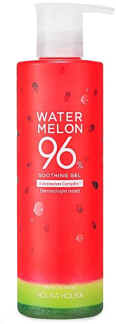 Cooling and Moisturizing Watermelon Gel - Holika Holika Watermelon 96% Soothing Gel