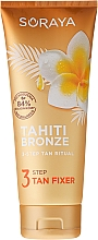 Fragrances, Perfumes, Cosmetics Tan Fixer Body Lotion - Soraya Tahiti Bronze 3 Step Tan Fixer