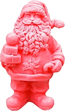 """Fragrances, Perfumes, Cosmetics Natural Handmade Soap """"Saint Nicholas with Gifts"""" Red, with Cherry Scent - LaQ Happy Soaps Natural Soap"""