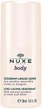 Fragrances, Perfumes, Cosmetics Roll-On Antiperspirant - Nuxe Body Long-Lasting Deodorant