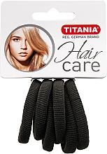 Fragrances, Perfumes, Cosmetics Small Elastic Hair Band, gray - Titania