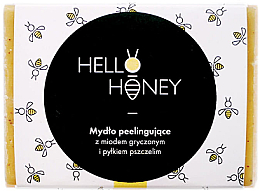 Fragrances, Perfumes, Cosmetics Bee Pollen & Honey Peeling Soap - Lullalove Exfoliating Soap Bar With Honey