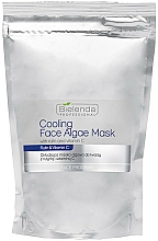 Fragrances, Perfumes, Cosmetics Alginate Face Mask with Rutin and Vitamin C - Bielenda Professional Cooling Face Algae Mask (refill)